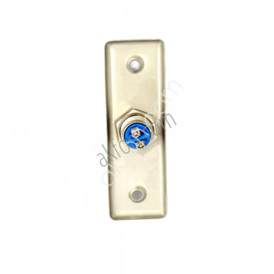 B-02 Paslanmaz Çelik Kapı Açma Butonu