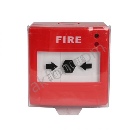 Yangın Alarm Çıkış Butonu Kırmızı