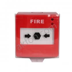 Yangın Alarm Çıkış Butonu Kırmızı B-10